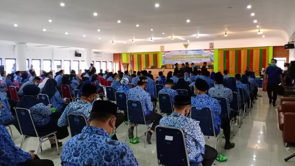 Suasana Pelantikan Eselon III & IV Pemerintah Kab. Pidie Jaya