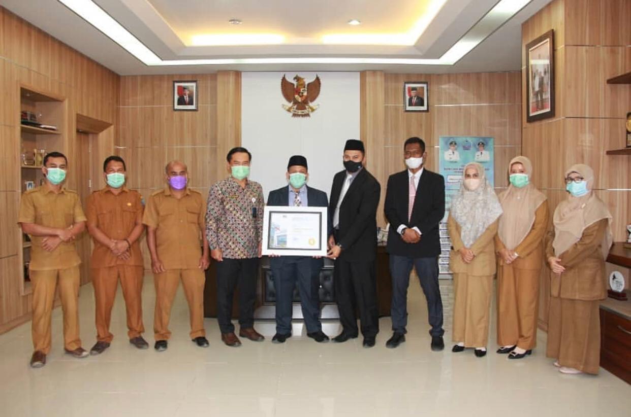 Penerimaan penghargaan BKN Award 2021
